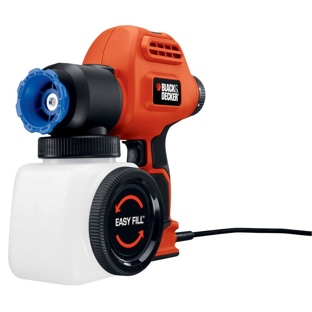 BLACK+DECKER BDPS Airless Paint Sprayer with Side Fill