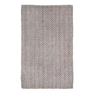 Sandscape Natural Brown and Ivory 5 ft. x 8 ft. Area Rug