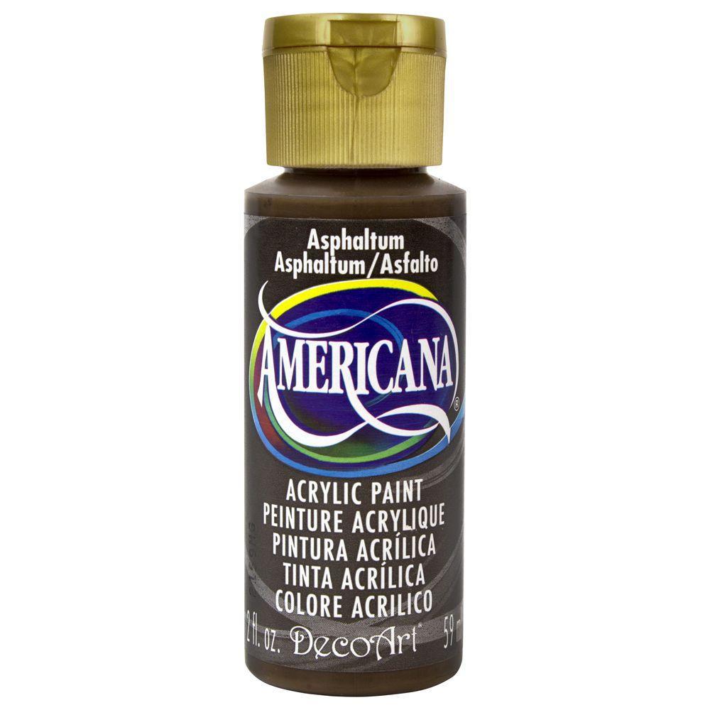 Americana 2 oz. Asphaltum Acrylic Paint