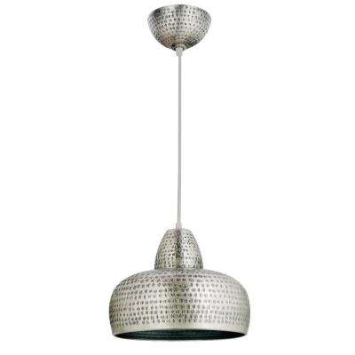 Bazaar 1-Light Antique Nickel Pendant