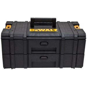 dewalt toughsystem ds250 2 drawer small parts the home depot