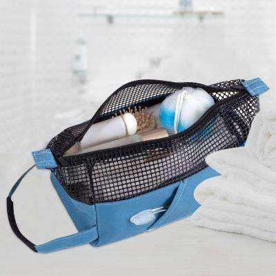 All Purpose Mesh Tote Bag in Blue