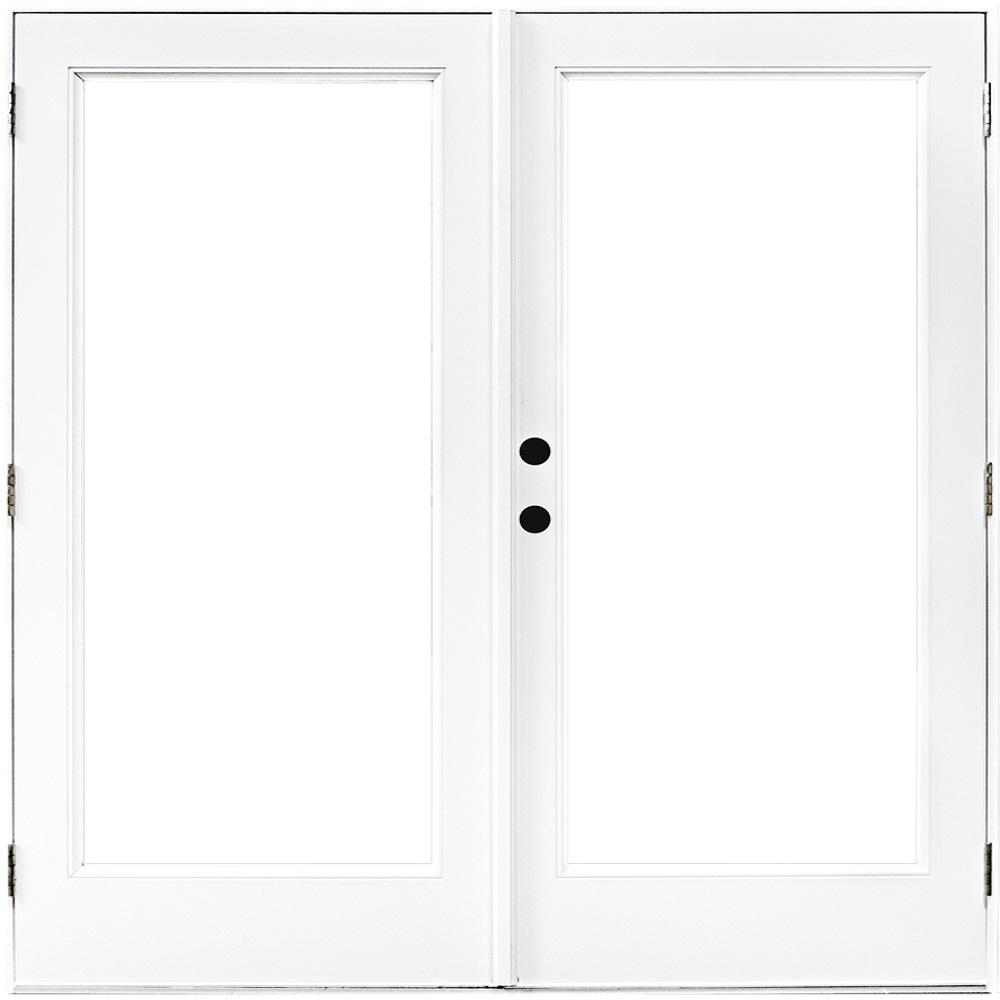 Mp Doors 72 In X 80 In Fiberglass Smooth White Right