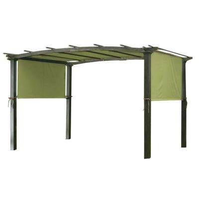 Universal Replacement Canopy Top Cover in Sage for Metal Pergola Frame