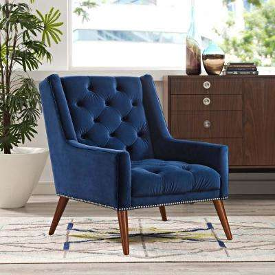 Navy 4 Up Chairs Living Room Furniture The Home Depot