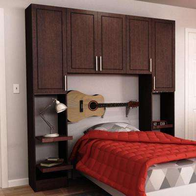 Madison 1-Piece Mocha Twin Bedroom Kit