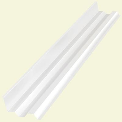 4.1 ft. Clear Polycarbonate Side Ridge Cap