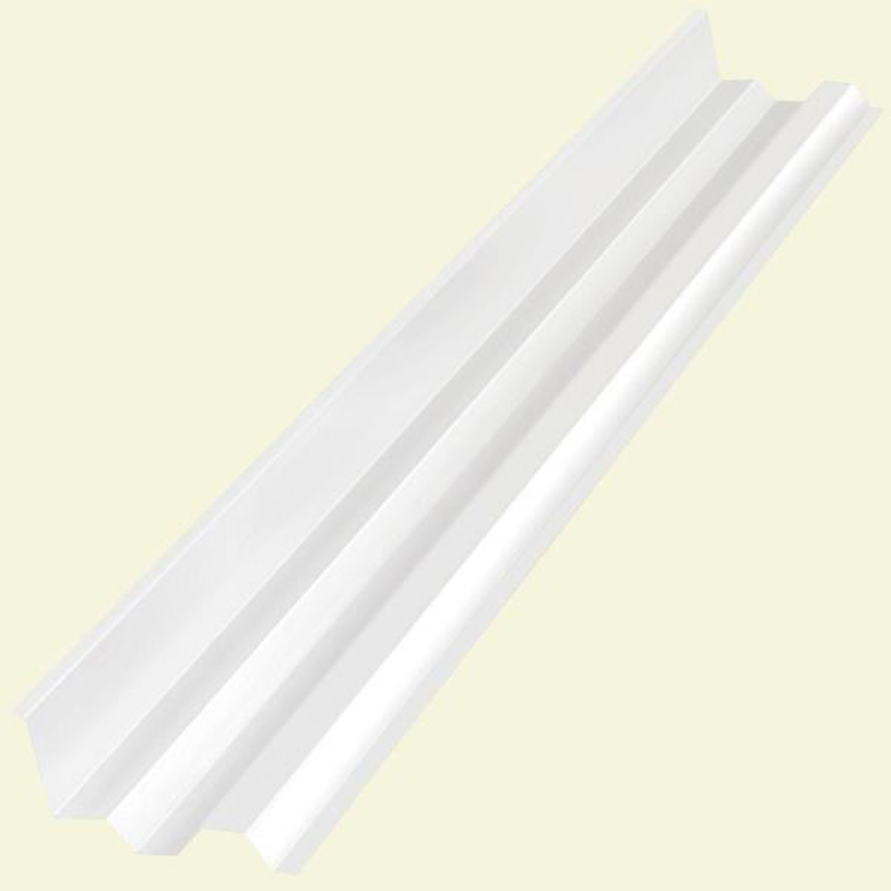 4.1 ft. Clear Polycarbonate Side Ridge Cap