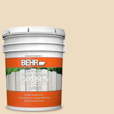 Behr 5 Gal 330e 2 Cornerstone Solid Color House And Fence Exterior Wood Stain 01105 The Home Depot