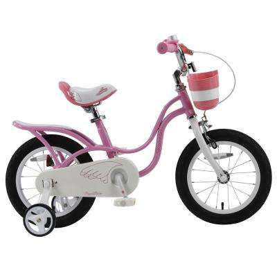 14 in. Wheels Pink Little Swan Girl's Bike