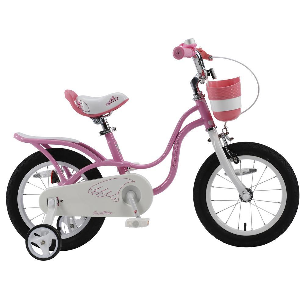 14 in. Wheels Pink Little Swan Girl's Bike