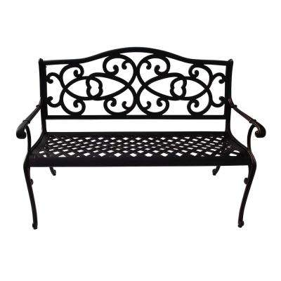 Philly 47.75 in. Aluminum Outdoor Bench