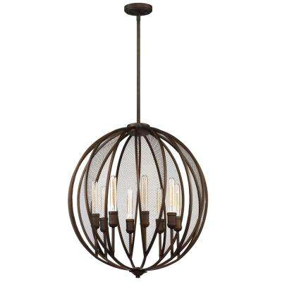 Linden 8-Light Bronze Chandelier