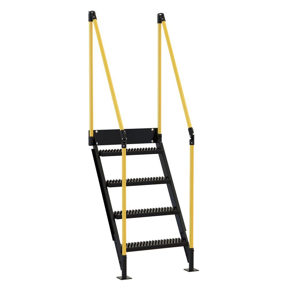 Beau Vestil 4 Stair Sections For Modular Work Platform