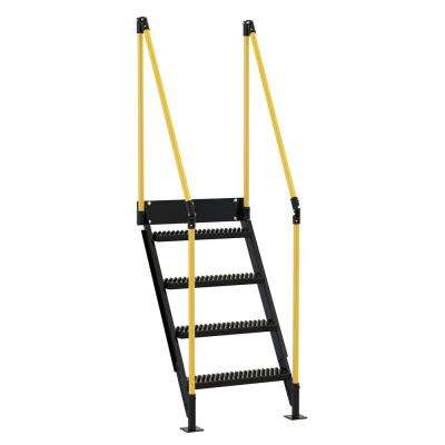 4 Stair Sections for Modular Work Platform