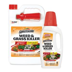 Deals on Spectracide Weed and Grass Concentrate and Ready to Use Bundle Pack 2 ct.