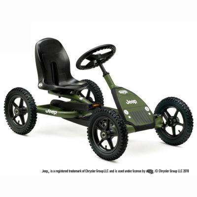 Jeep Junior Children's Green Pedal Go-Kart