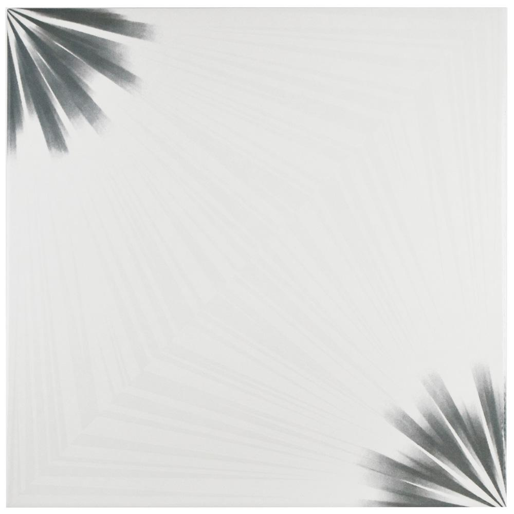 Merola Tile Pisa Blanco 17-3/4 in. x 17-3/4 in. Ceramic Floor and Wall Tile (22.5 sq. ft. / case)