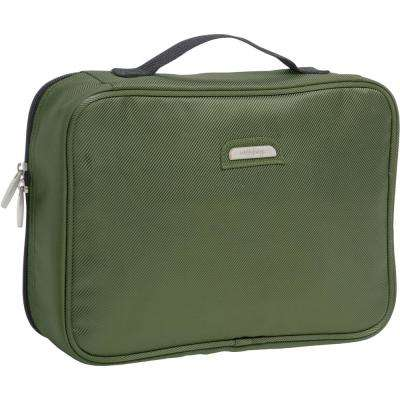 Olive Hanging Travel Toiletry Bag