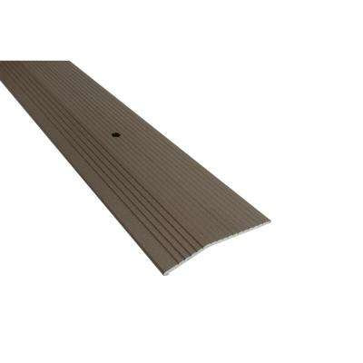Spice 1/2 in. x 2 in. x 36 in. Fluted Carpet Trim