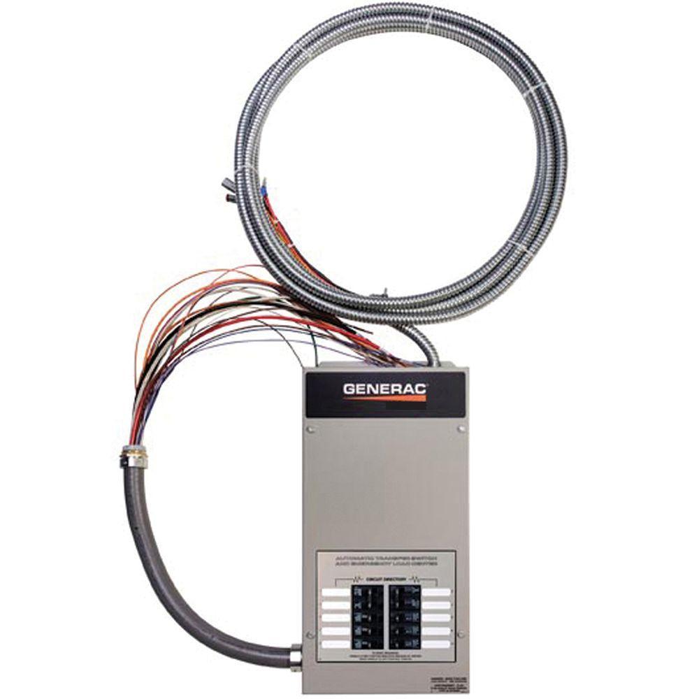 10-Circuit 50-Amp Load Center