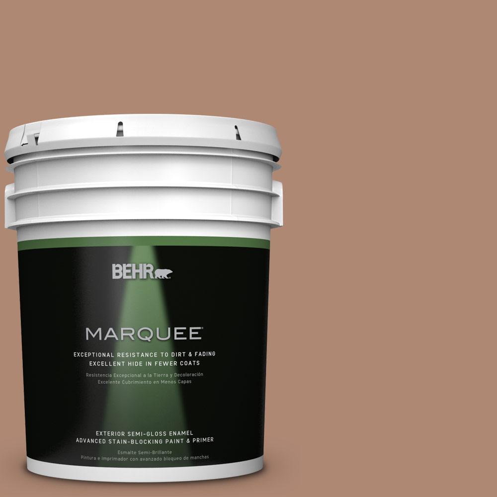 5-gal. #S200-5 Minestrone Semi-Gloss Enamel Exterior Paint