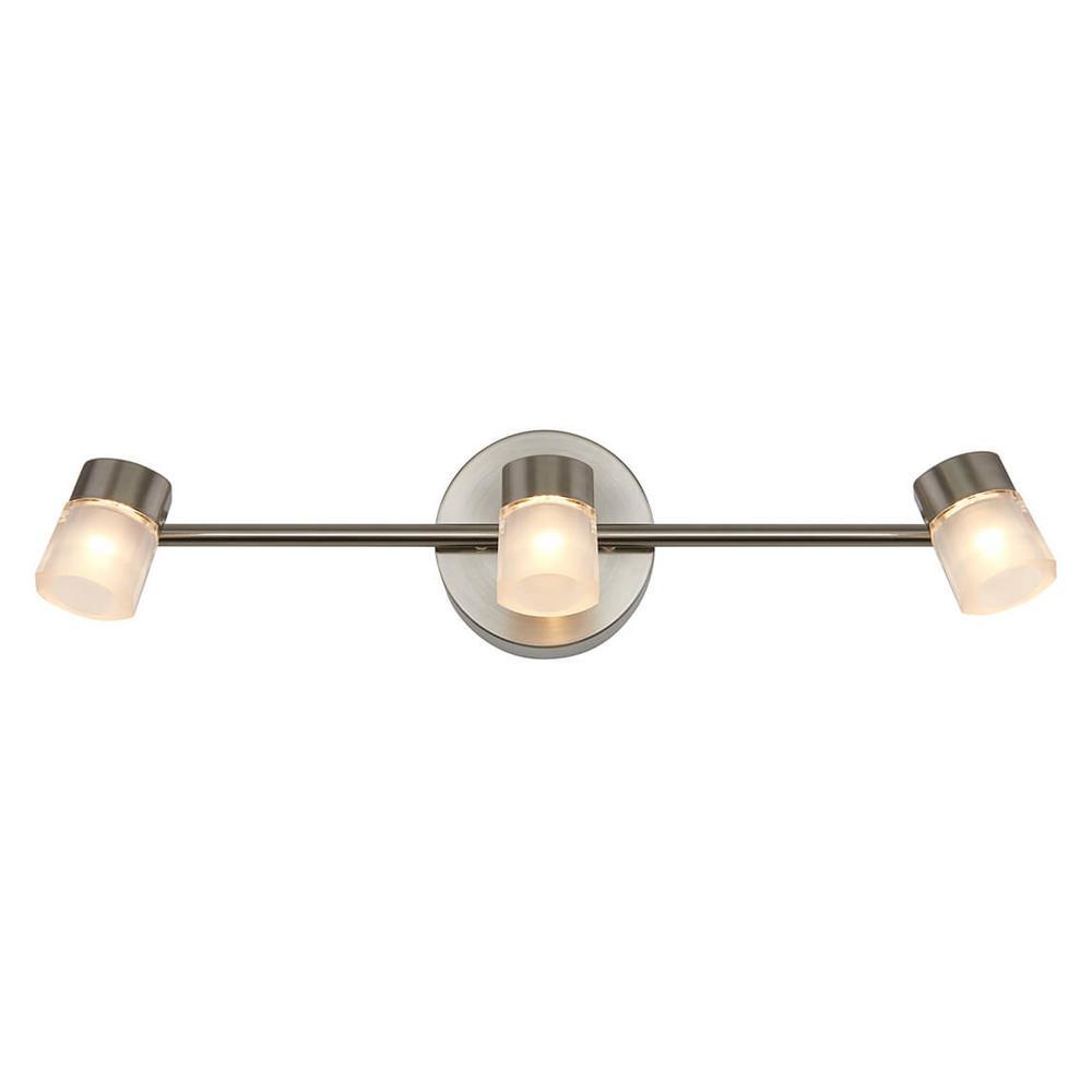 Vars 2 ft. 3-Light Steel Integrated LED Track Lighting Kit