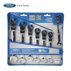 Click here to buy  Flexible Metric Geared Wrench Set (7-Piece).