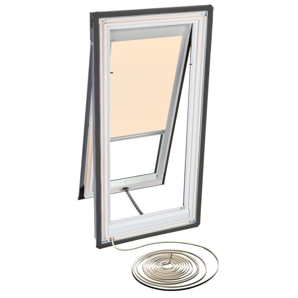 VELUX Beige Electric Light Filtering Skylight Blind for VSE M08 Models-DISCONTINUED