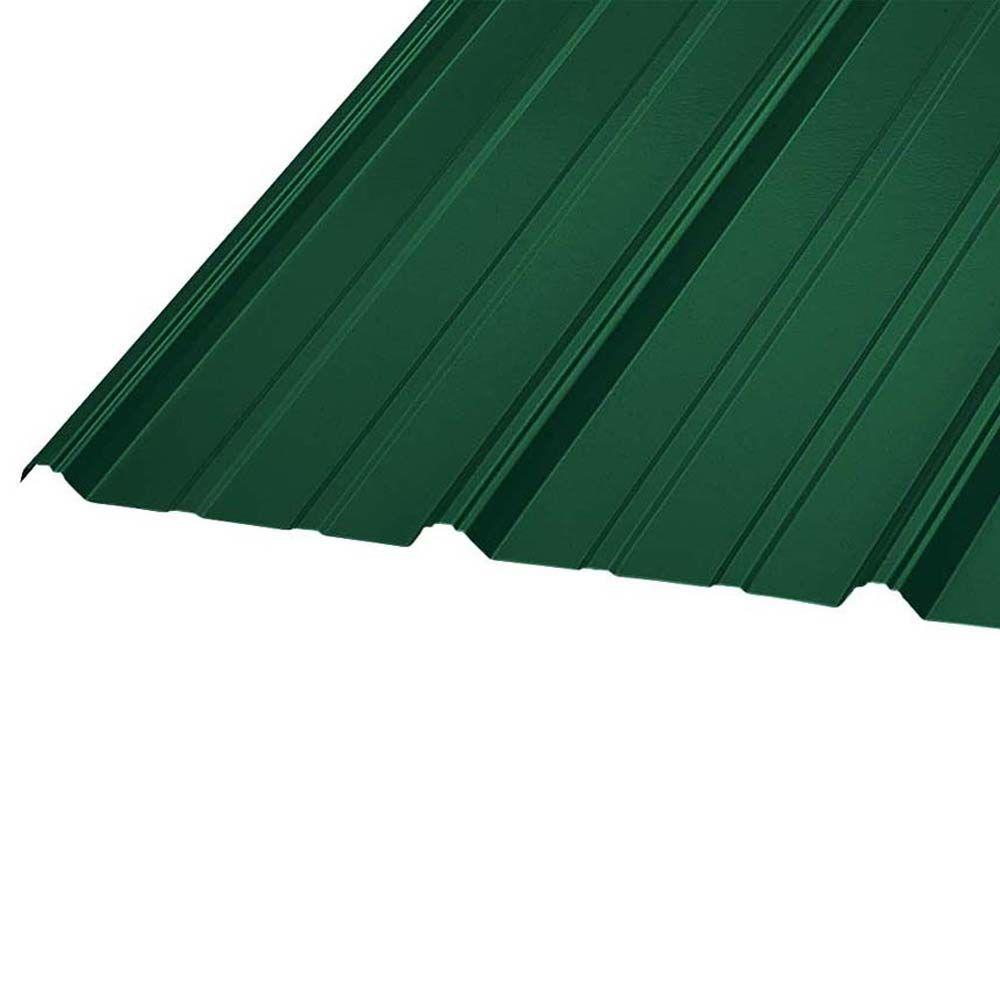 16 ft. x 36 in. SM RIB Galvanized Steel Roof Panel