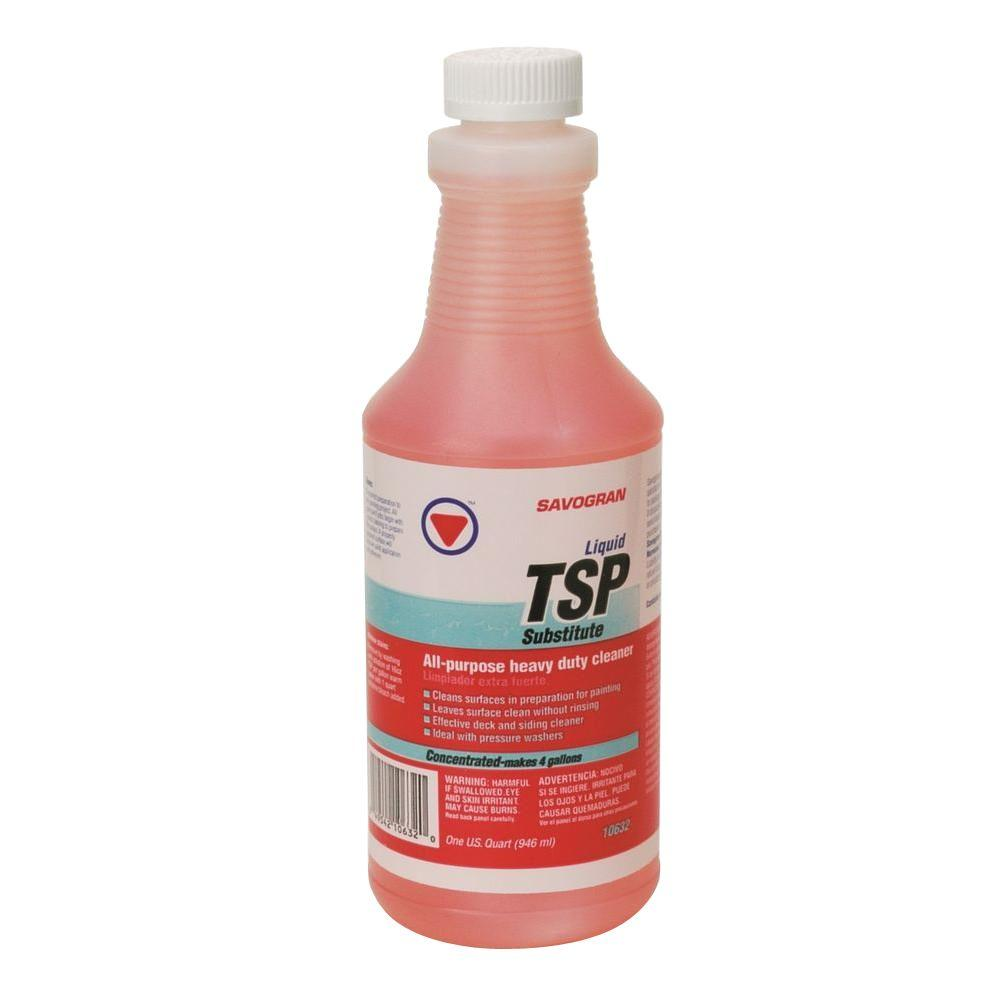Savogran 1 Qt Liquid Tsp Substitute Cleaner 10632 The Home Depot