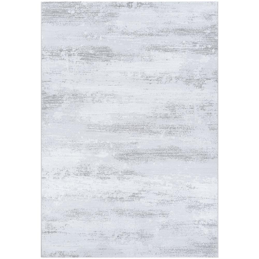 Serenity Virga Light Grey-Opal 9 ft. x 13 ft. Area Rug