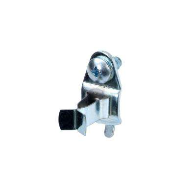 7/8 In. Projection Annealed Chromate Dipped Steel Ext Spg Clips (10 Pack)