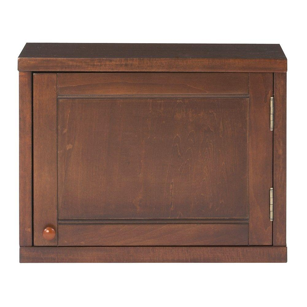 Martha Stewart Living Mudroom 15 in. H x 20 in. W Wood Sequoia Upper Cabinet