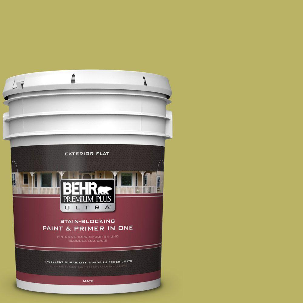 BEHR Premium Plus Ultra 5-gal. #PPU9-6 Riesling Grape Flat Exterior Paint