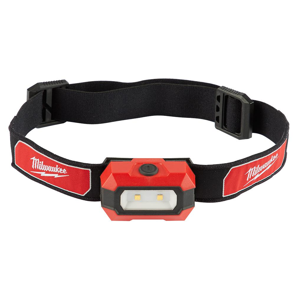 Milwaukee 300 Lumen Led Headlamp 2106 The Home Depot