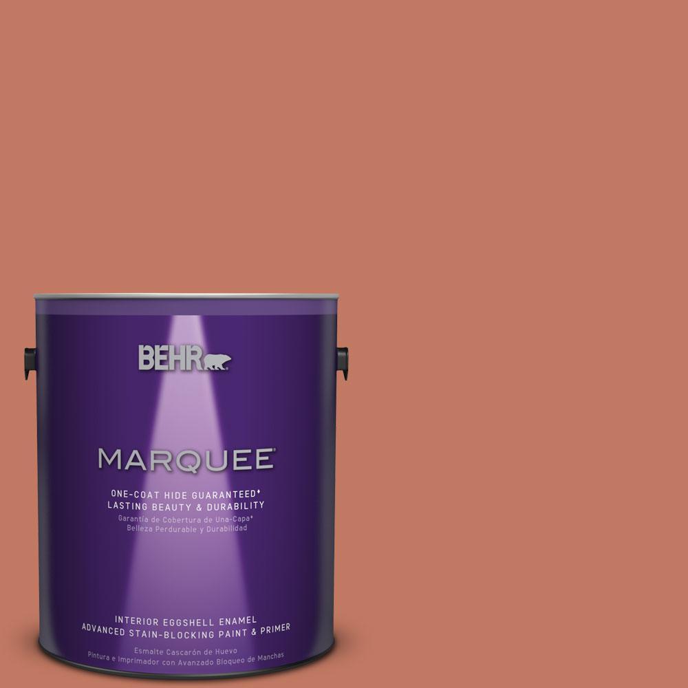 behr marquee 1 gal mq1 26 pinata eggshell enamel interior paint