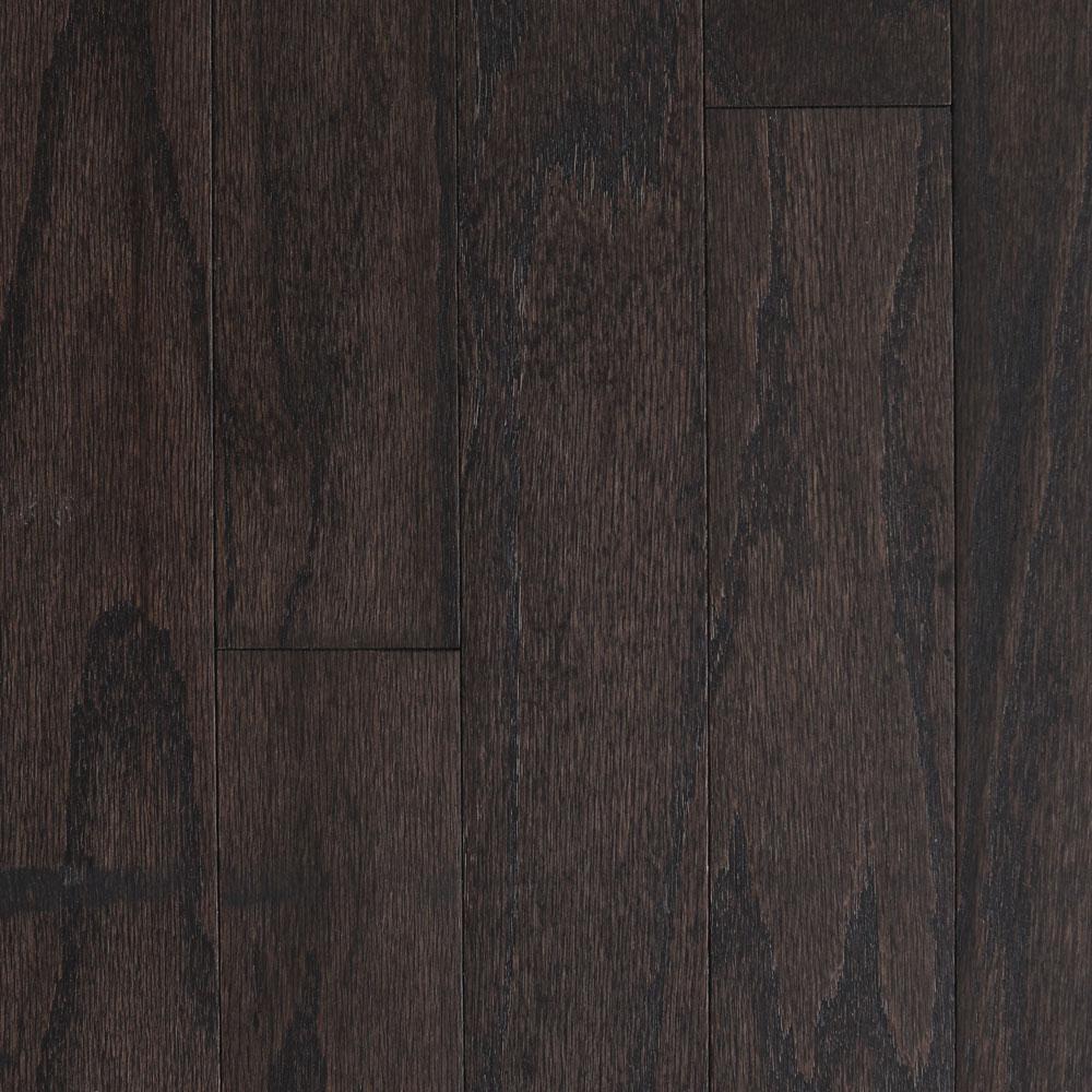 Blue Ridge Hardwood Flooring Lightly Brushed Oak Espresso 3/8 in. T x 5 in. W x Random Lengths Engineered Hardwood Flooring (24.5 sq. ft. / case)