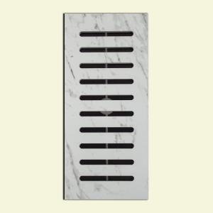 Made2Match MS-International Carrara Glazed Polished Porcelain 5 inch x 11 inch Floor Vent... by