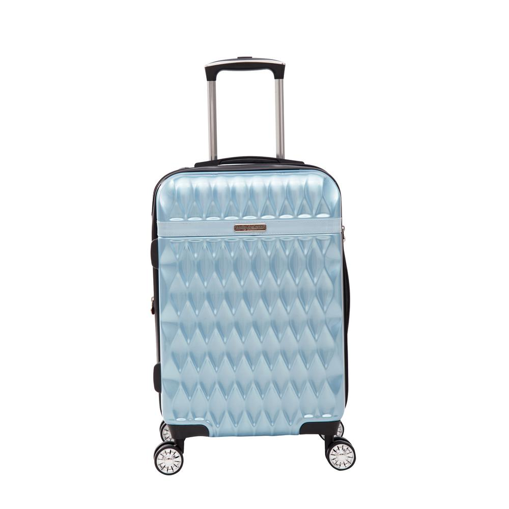 Kelly 22 in. Teal Hardside Spinner Luggage