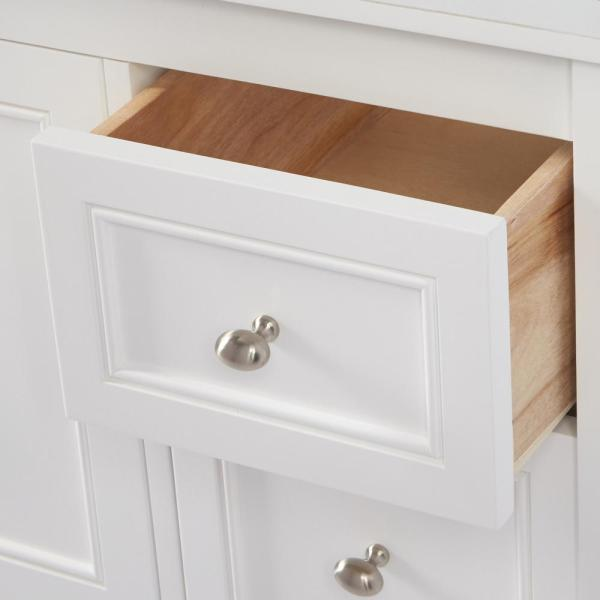 Home Decorators Collection-Gazette 48 in. W Bath Vanity Cabinet Only in White
