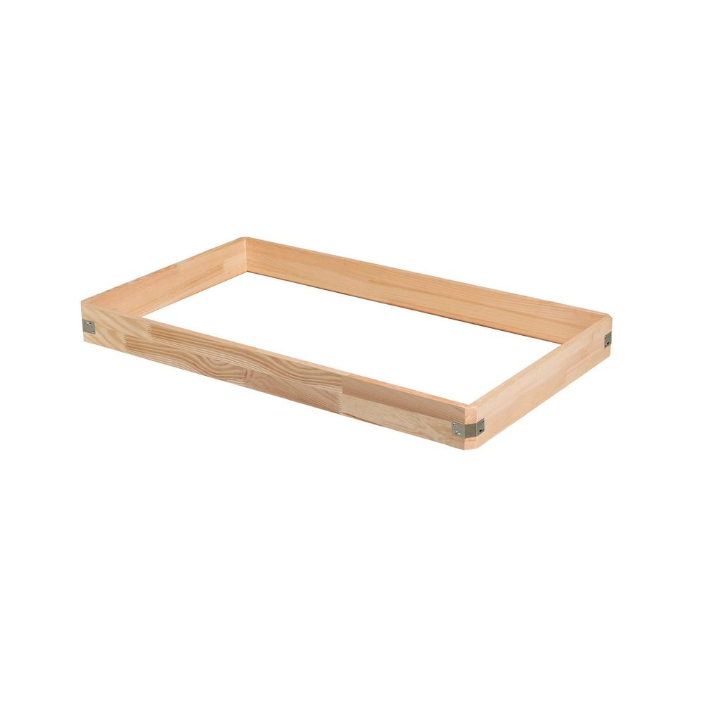 Fakro 25 in. x 47 in. Wooden Box Extension for Attic Ladder