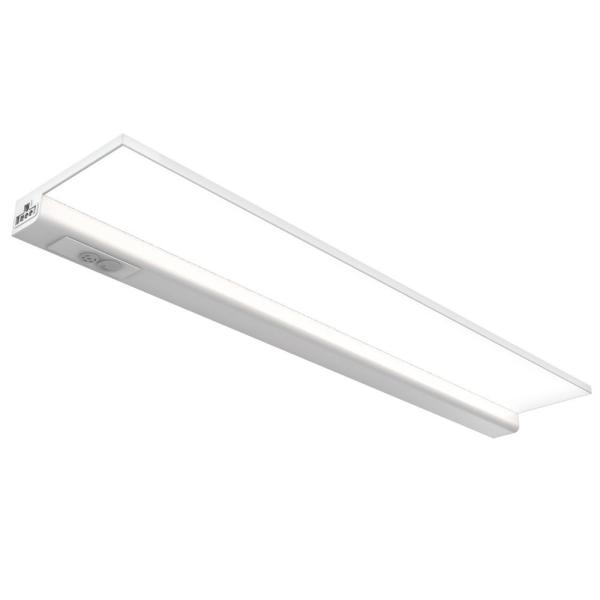 20.5 in. Direct Wire Integrated LED White Linkable Onesync Under Cabinet Light with Color Changing CCT