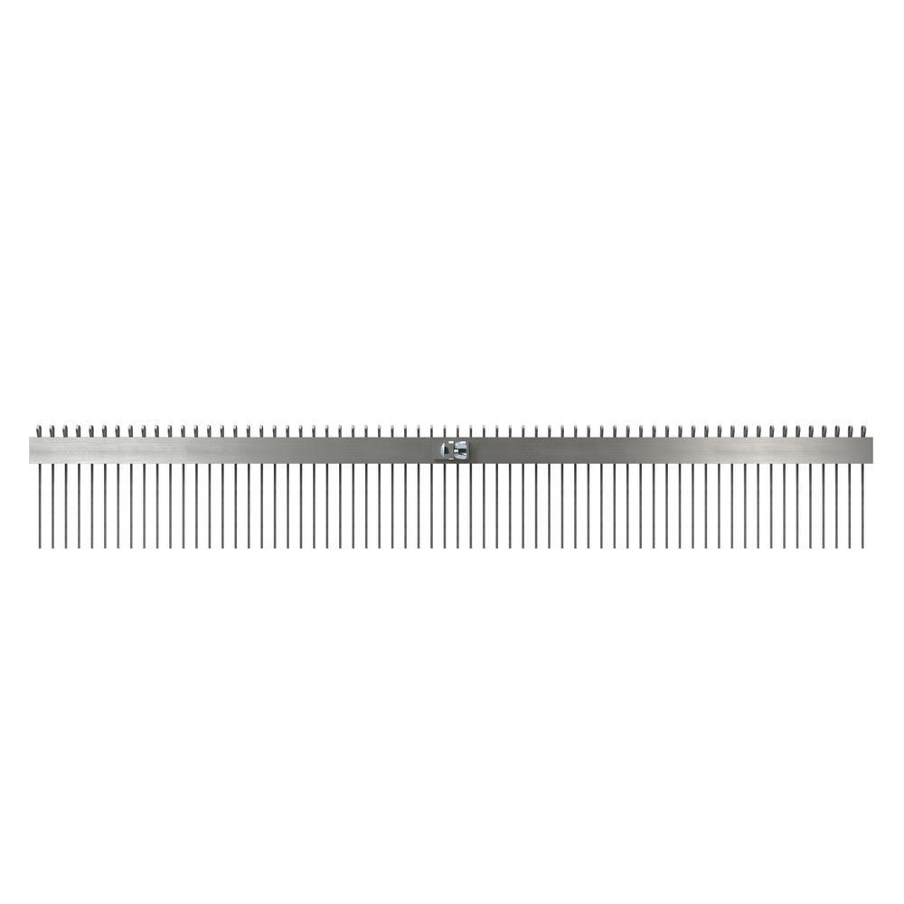 Bon Tool 36 in. Concrete Texture Comb Brush