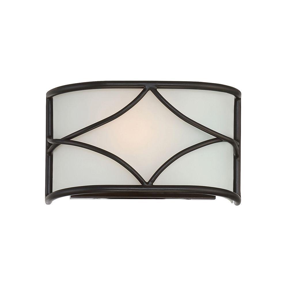 Avara 1 Light Oil Rubbed Bronze Interior Wall Sconce
