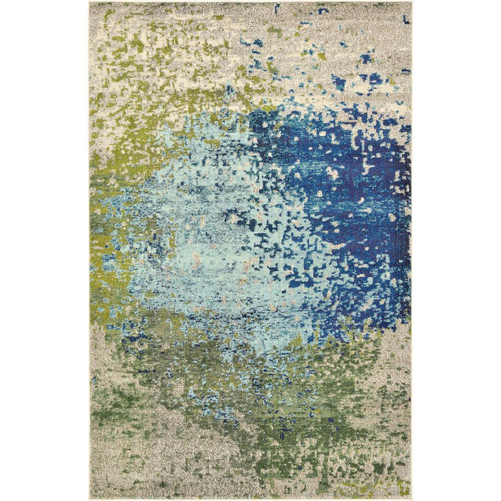 Estrella Vella Blue 5' 0 x 8' 0 Area Rug