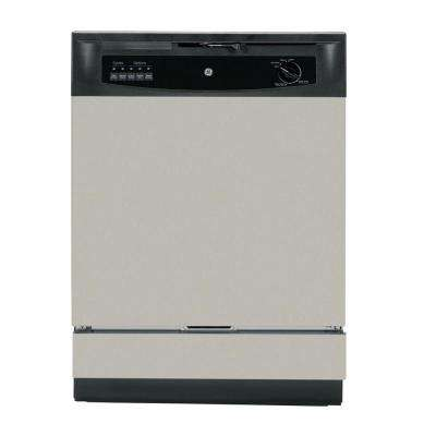 Front Control Dishwasher in Silver, 62 dBA
