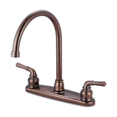Accent 2-Handle Standard Kitchen Faucet in Oil Rubbed Bronze
