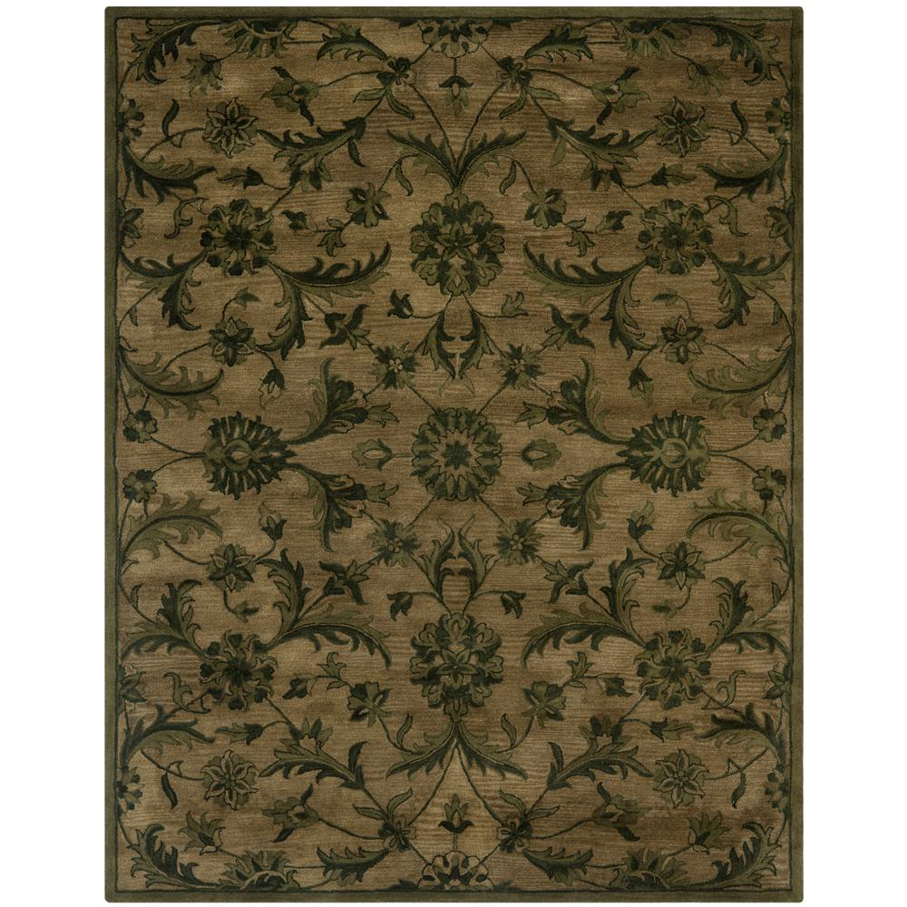 Safavieh Antiquity Olive Green 9 Ft X 12 Area Rug At824a 912 The Home Depot