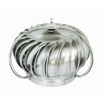 12 in. Galvanized Externally Braced Replacement Turbine Head